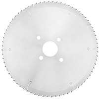 No-noise saw blade